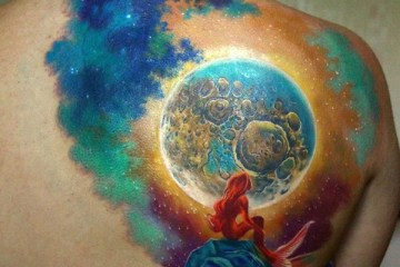 Lovely Colorful Tattoo