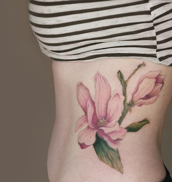 Magnolias tattoo