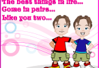 Best Birthday Greetings For Twins Wishes Image