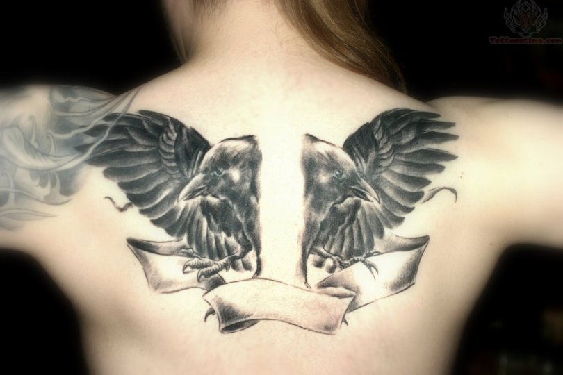 Crow Tattoo