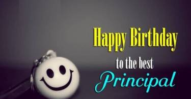 Principal Birthday Wishes