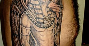 Fabulous Egyptian Tattoo Image For Boys
