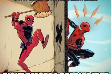 You And Your Teacher Right Before A Suprise Test Deadpool Memes