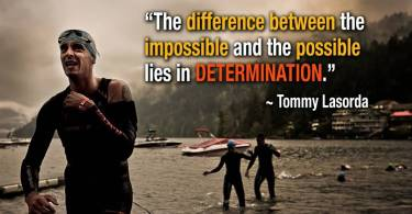Determination Quotes the difference between the
