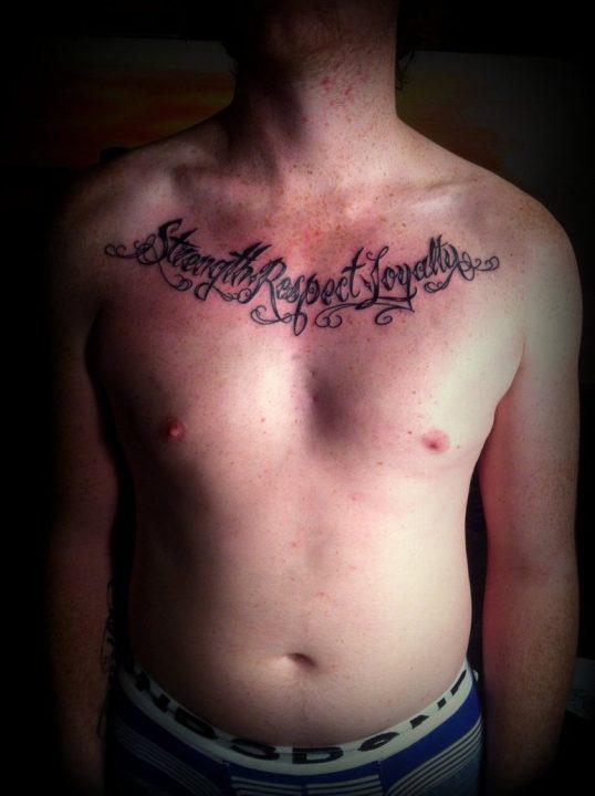 Fabulous Strength Symbol Tattoos