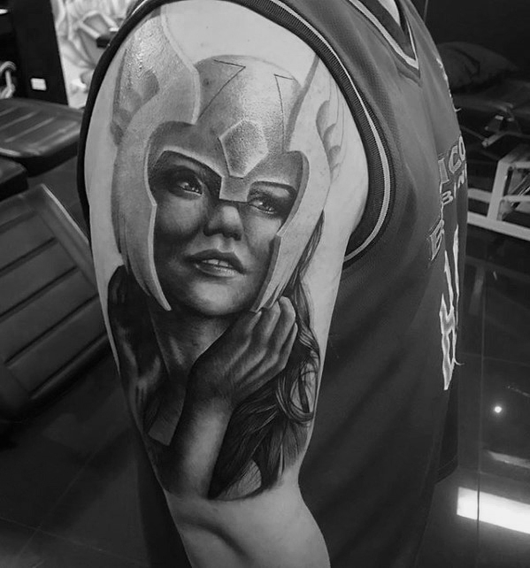 Valkyrie Tattoos Designs & Idea For Men's And Women's 0027