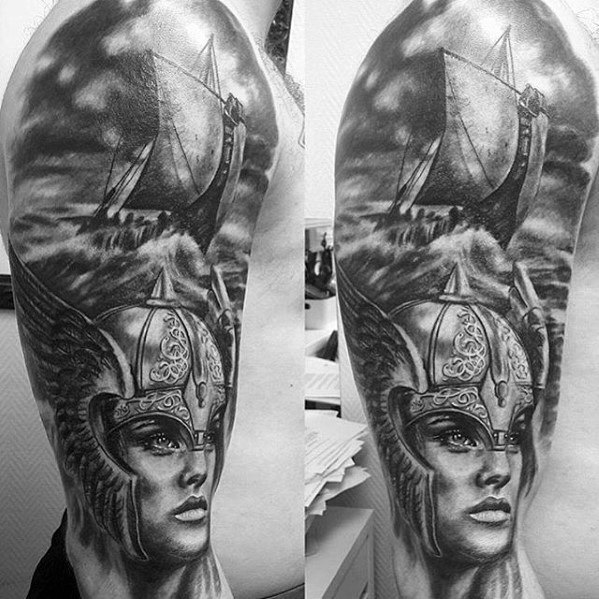 Valkyrie Tattoos Designs & Idea For Men's And Women's 0036