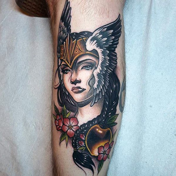 Valkyrie Tattoos Designs & Idea For Men's And Women's 0044