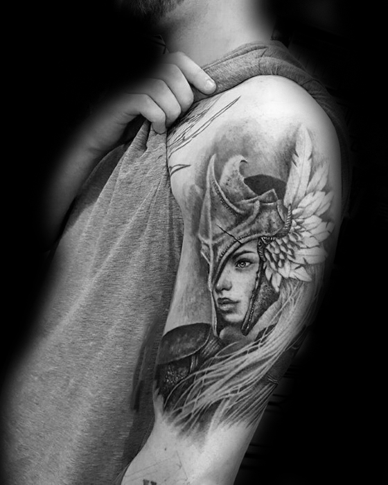 Valkyrie Tattoos Designs & Idea For Men's And Women's 0046