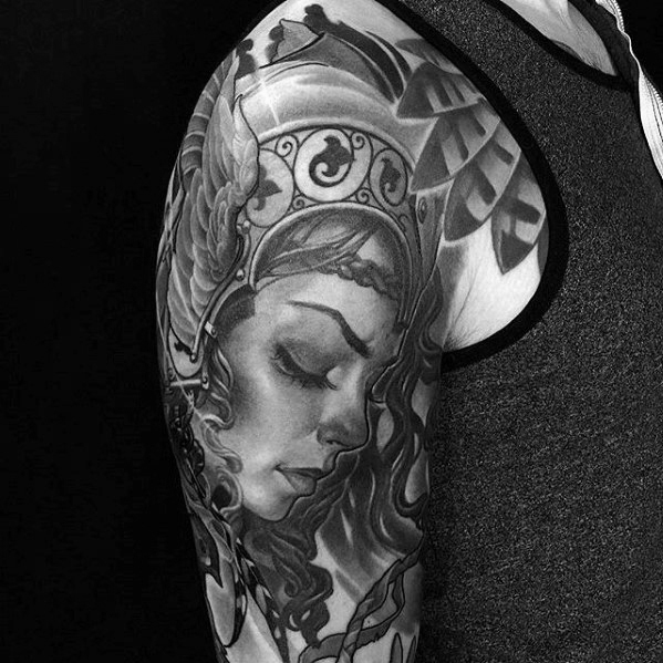 Valkyrie Tattoos Designs & Idea For Men's And Women's 0055