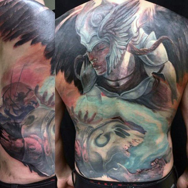 Valkyrie Tattoos Designs & Idea For Men's And Women's 0058