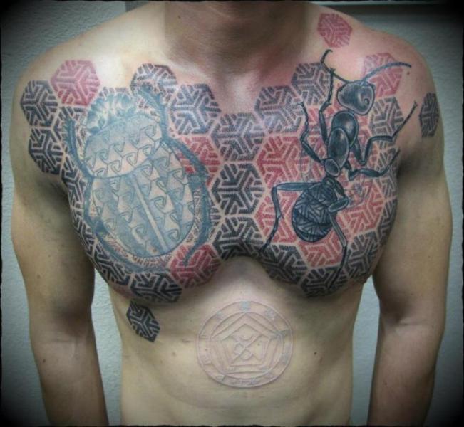 Ant Tattoos Idea Design for Tattoos Lover 38