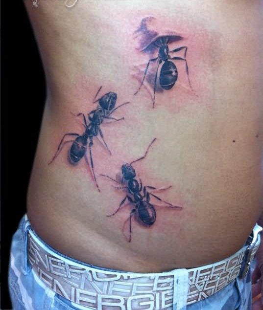 Ant Tattoos Idea Design for Tattoos Lover 55