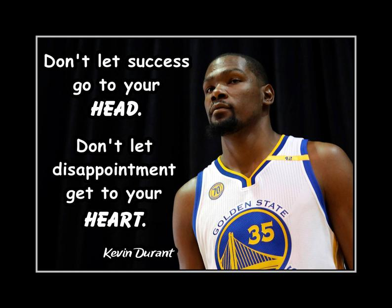 Basketball quotes don't let success go to your head