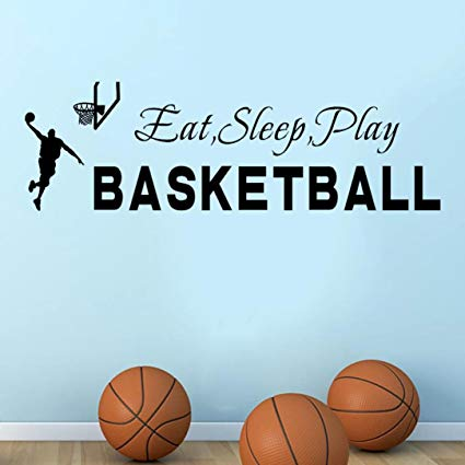 Basketball quotes eat sleep play basketball