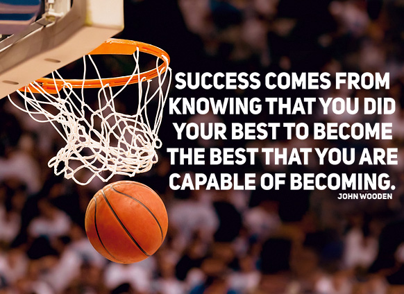 Basketball quotes success comes from knowing that you did