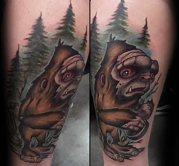 Bigfoot Tattoos 0190