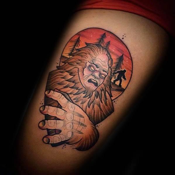 Bigfoot Tattoos 0191