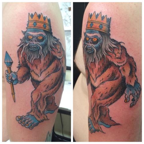 Bigfoot Tattoos 0204