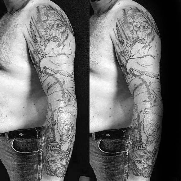 Bigfoot Tattoos 0207