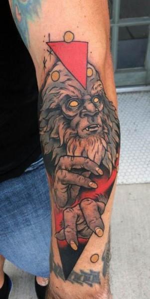 Bigfoot Tattoos 0212