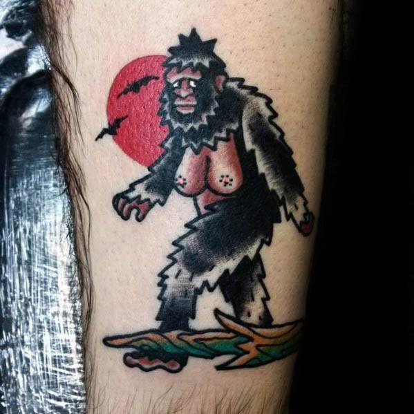 Bigfoot Tattoos 0222