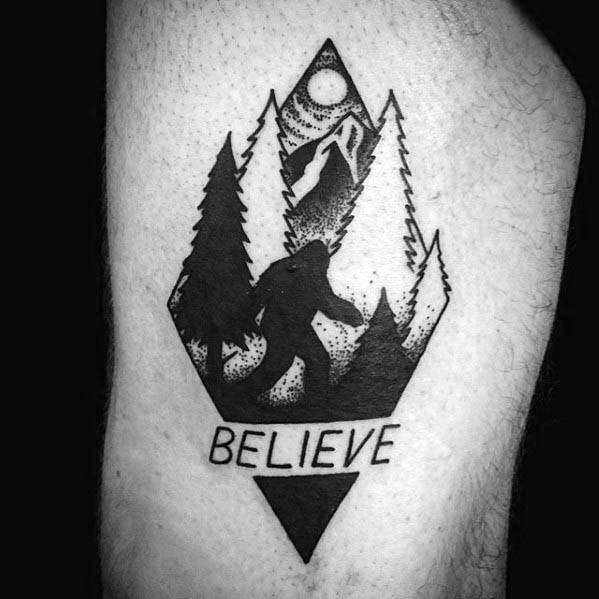 Bigfoot Tattoos 0227