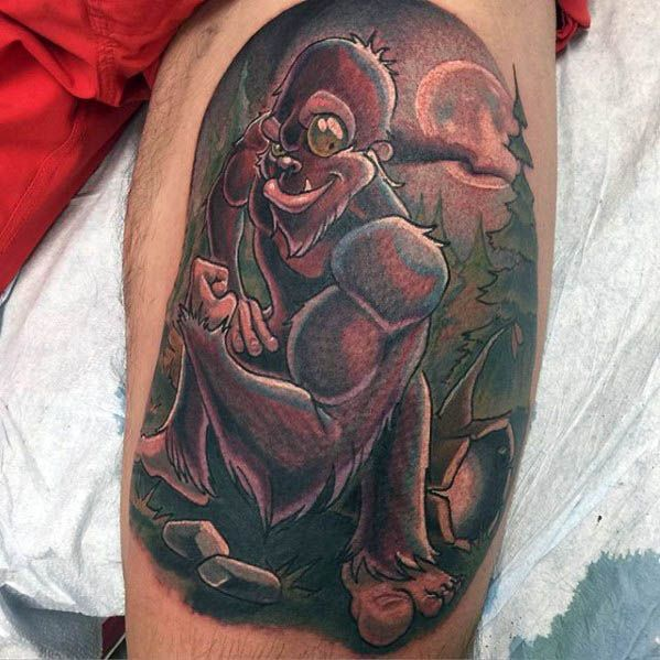 Bigfoot Tattoos 0230