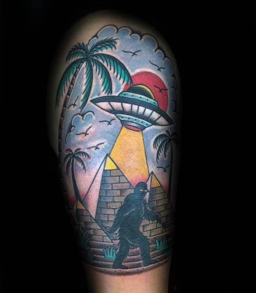 Bigfoot Tattoos 0238