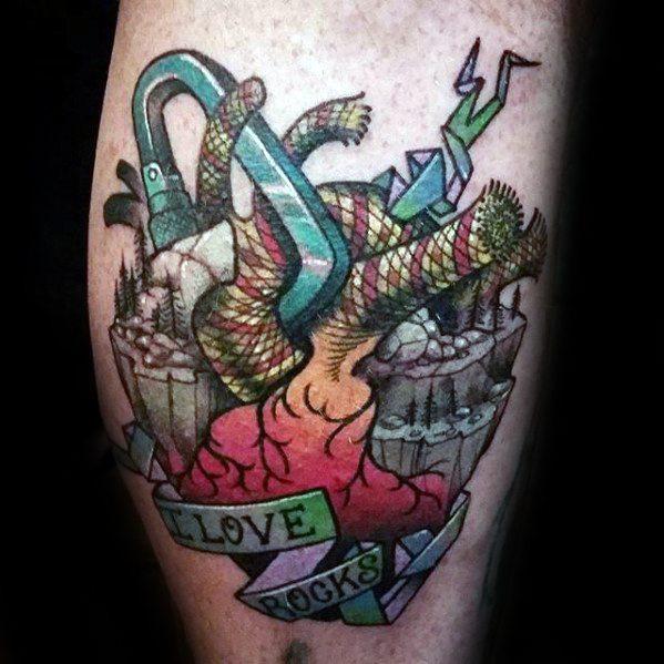 Climbing Tattoos Idea Designs for Tattoos Lover 13