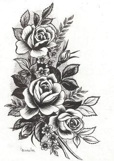 Cool Flower Tattoos