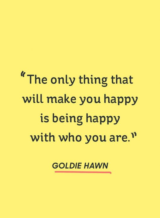 Happy Quotes the only thing that will make you happy