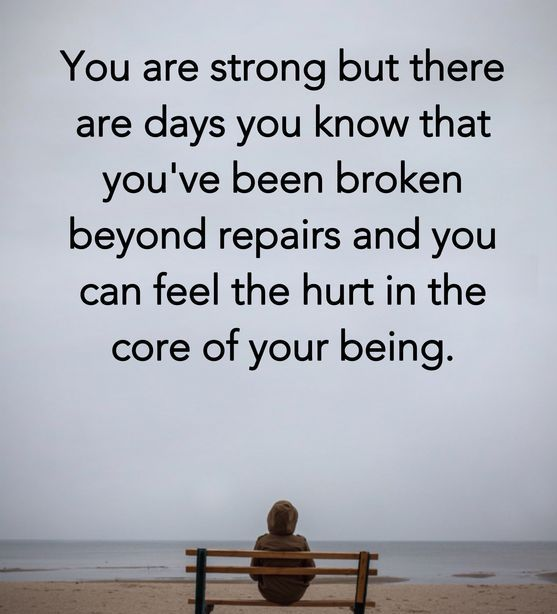 Hurt quotes you are strong but there are days you know that you've