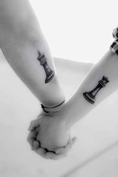 Matching Couple Tattoos Design & Ideas For True Lover 0005
