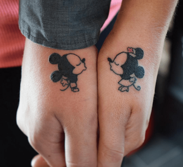 Matching Couple Tattoos Design & Ideas For True Lover 0007
