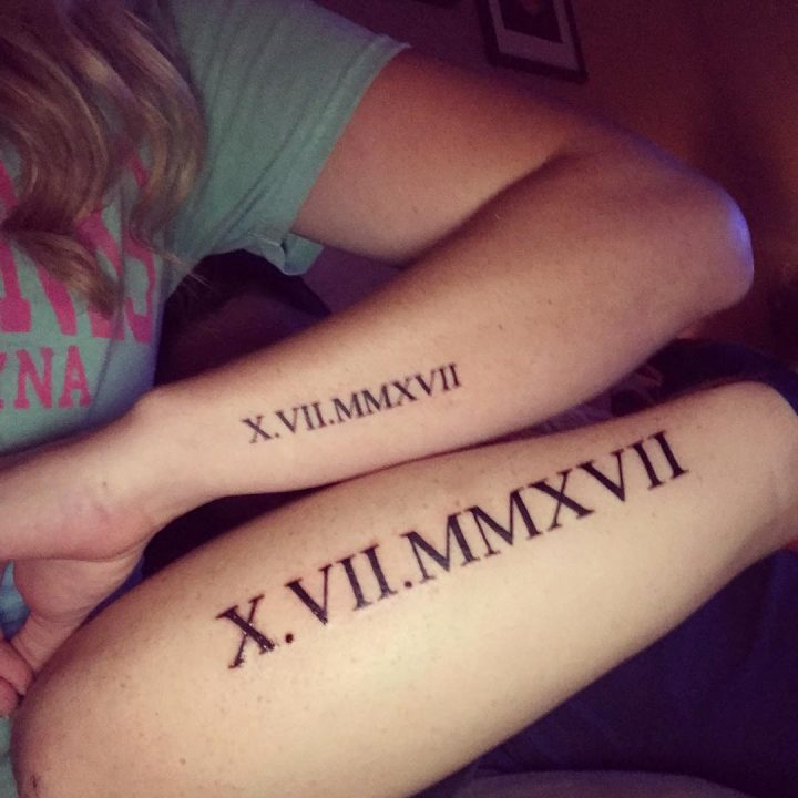 Matching Couple Tattoos Design & Ideas For True Lover 0012