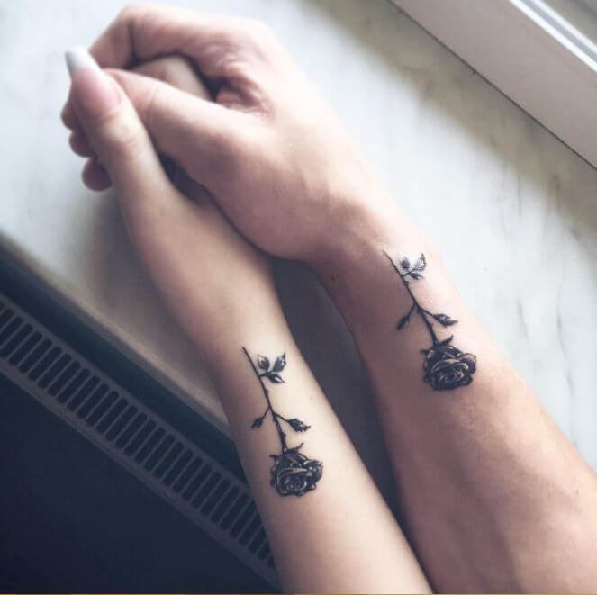 Matching Couple Tattoos Design & Ideas For True Lover 0014