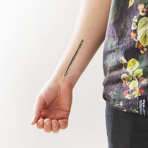 Pencil Tattoos