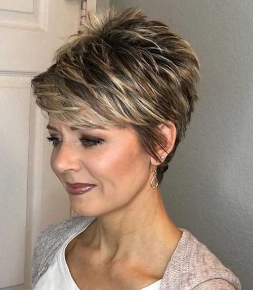 Short Hair Styles Design Idea for Women & Girls 0034