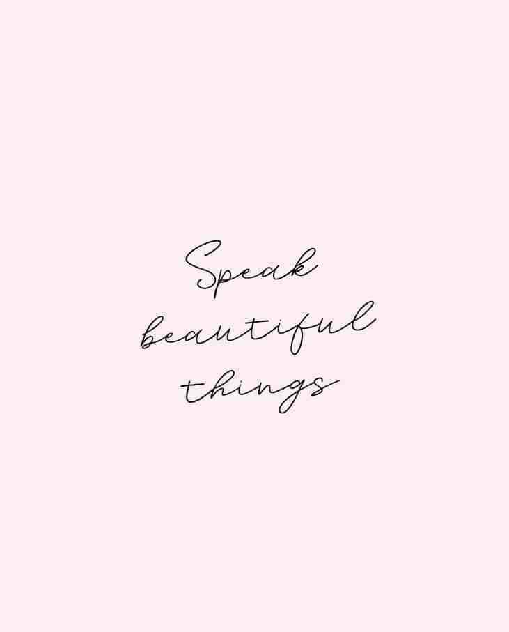 Short Quotes speak beautiful things