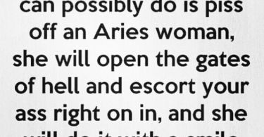 Aries Woman Quotes