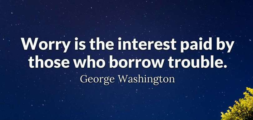 Citizenship quotes, Sayings And Quotations worry is the interest paid by those who borrow