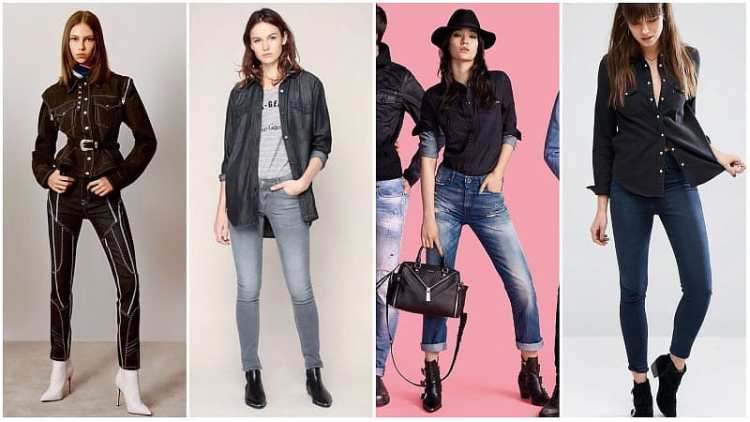 Denim Outfit Styles For Women's 20