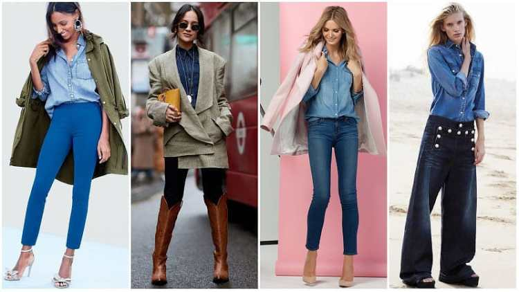 Denim Outfit Styles For Women's 23