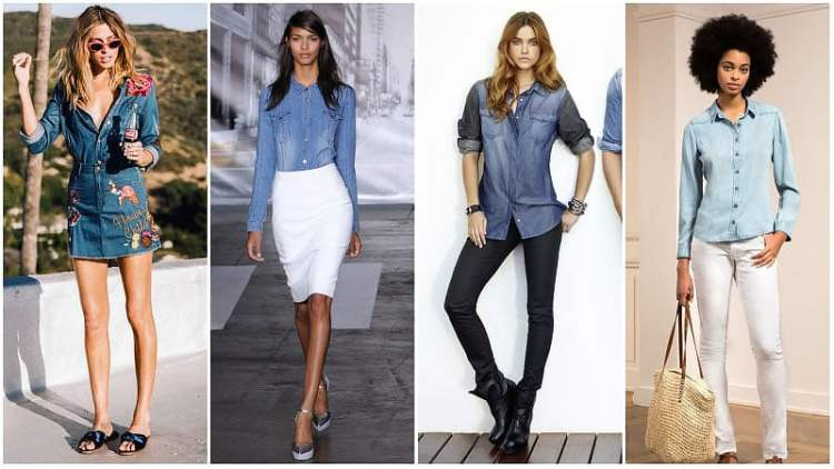 Denim Outfit Styles For Women's 28