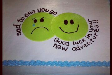 Going Away Cake Quotes