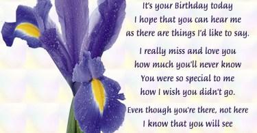 Grandma Birthday In Heaven Quotes
