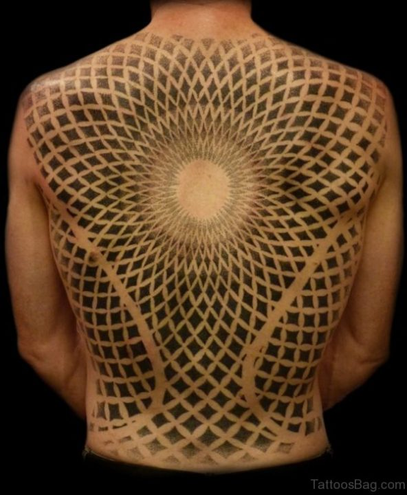 Alluring Back Tattoos For Boy's And Girls 34