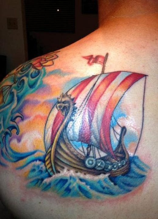 Alluring Back Tattoos For Boy's And Girls 38