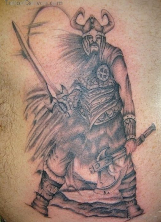 Alluring Back Tattoos For Boy's And Girls 41